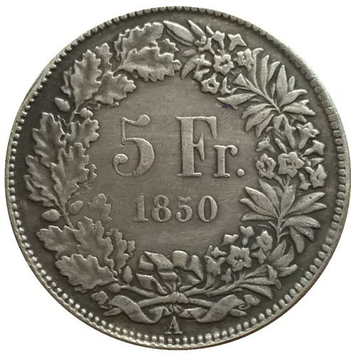 1850 Swiss coins copy