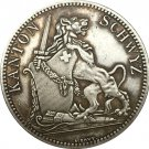 Switzerland 5 Franken Shooting Festival 1867 coins copy