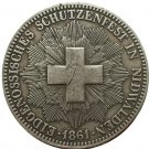 1861 Swiss coins copy