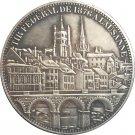 Switzerland 5 Franken Shooting Festival 1876 coins copy