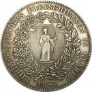 Switzerland 40 Batzen Shooting Festival 1847 coins copy