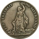 Switzerland 1872 5 Franken Shooting Festival copy coins