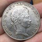 1837 Austria 1 Thaler coins 38.61MM
