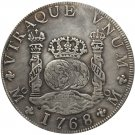 1768 Mexico MF 8 REALES COIN COPY