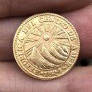 1841 Central American Republic 1 Escudos coins 18mm