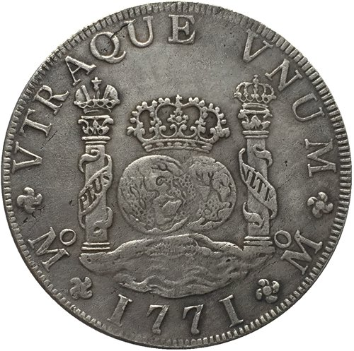 1771 Mexico MF 8 REALES COIN COPY