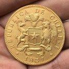 1837 Chile 8 Escudos COIN COPY