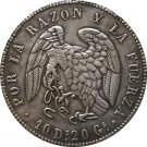 1839 Chile 8 Reales COIN COPY 39MM
