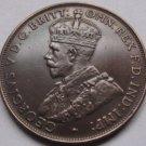 1930 Australia One Penny Coin Copy 100% coper
