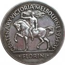 Australia 1934-1935 1 Florin coin copy 28.5mm