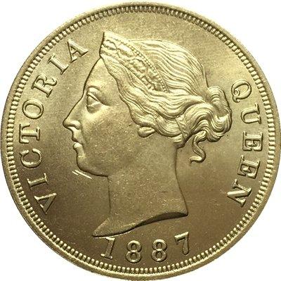 Cyprus 1887 1 Piastre COINS COPY 32MM