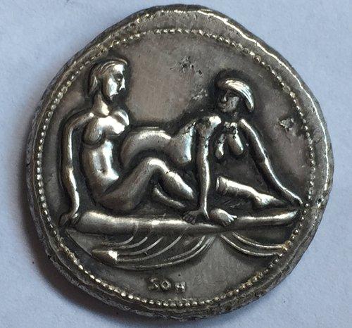 Type:#134 Greek COINS Irregular size