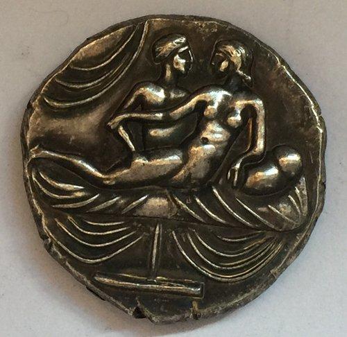 Type:#125 Greek COINS Irregular size