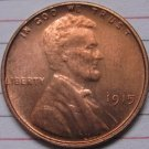 1915 Lincoln Penny Coins Copy 95% coper