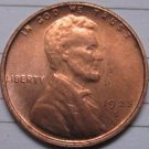 1923-S Lincoln Penny Coins Copy 95% coper