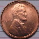 1956-D Lincoln Penny Coins Copy 95% coper