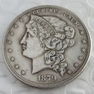 US 1879 Metric Dollar Barber's Head Patterns copy coin