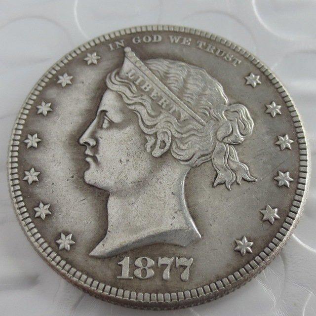 US 1877 Sailor Head Half Dollar Patterns copy coin
