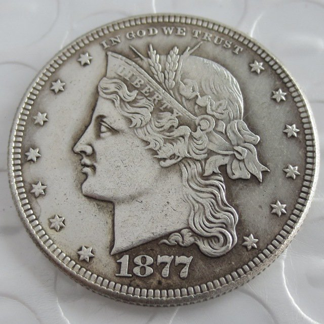 US 1877 Coronet Head Half Dollar Patterns copy
