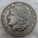 US 1877 Phrygian Cap Half Dollar Patterns copy coin
