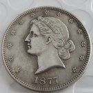 US 1877 Paquet Liberty Half Dollar Patterns copy coin