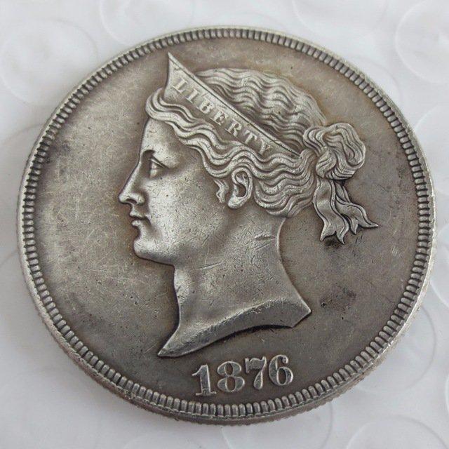 US 1876 Sailor Head Dollar Patterns copy coin