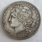 US 1878 Goloid Metric Dollar Patterns copy coin