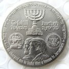 Silver Plated Collectible Coin President Donald Israel Trump Commemorative Coin Diameter(38mm)