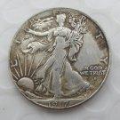 1917-D Obverse (Rugular Strike) Walking Liberty Half Dollar COIN COPY