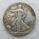 1917-D Reverse (Rugular Strike) Walking Liberty Half Dollar COIN COPY
