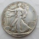 1918-D Walking Liberty Half Dollar Coin Copy