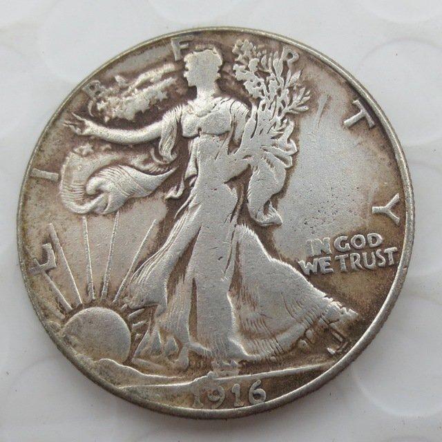 1916-D Walking Liberty Half Dollar COIN COPY