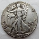 1946-p Walking Liberty Half Dollar COIN COPY