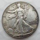 1942-p Walking Liberty Half Dollar COIN COPY