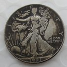 1921-p Walking Liberty Half Dollar COIN COPY