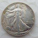 1920-p Walking Liberty Half Dollar COIN COPY
