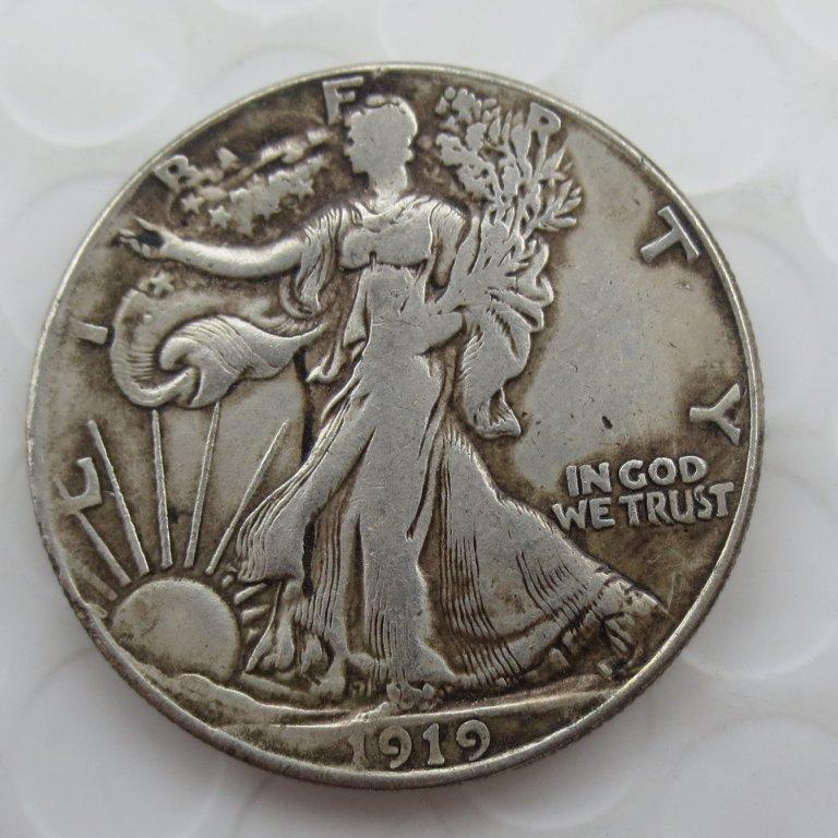 1919-p Walking Liberty Half Dollar COIN COPY