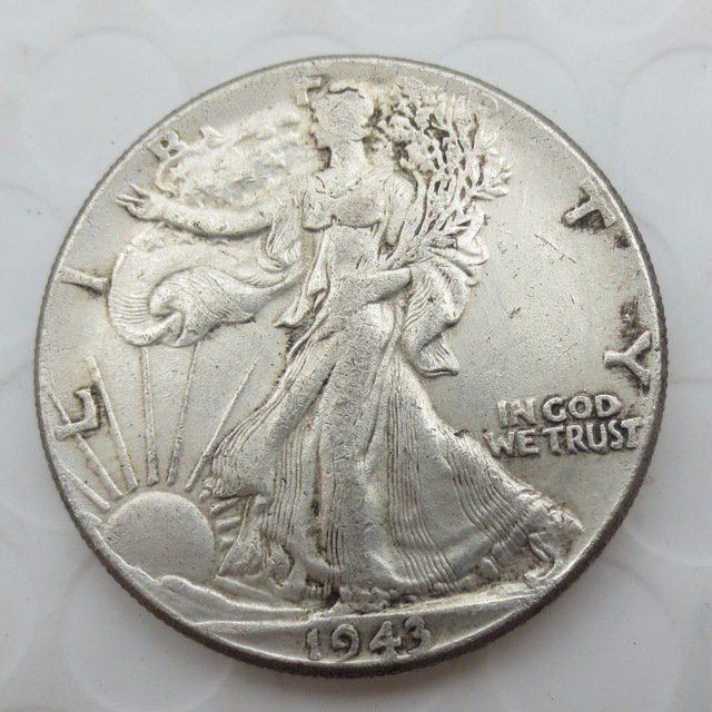 1943-S Walking Liberty Half Dollar COIN COPY