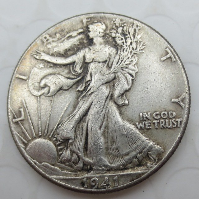 1941-S Walking Liberty Half Dollar COIN COPY