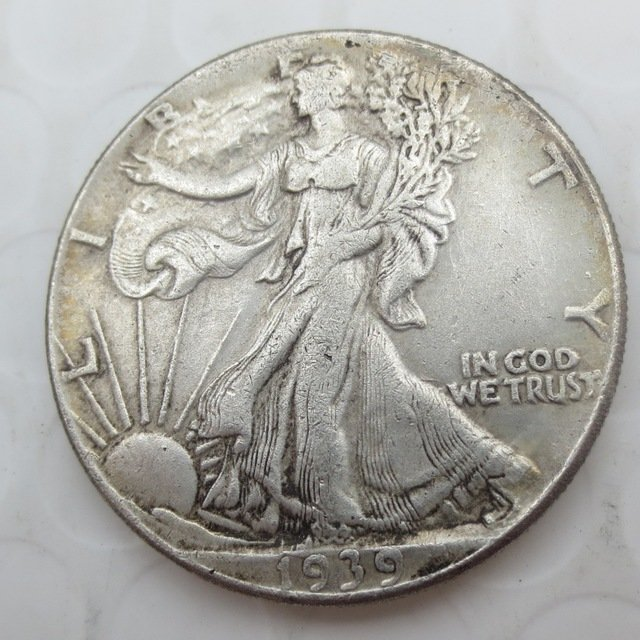 1939-S Walking Liberty Half Dollar COIN COPY