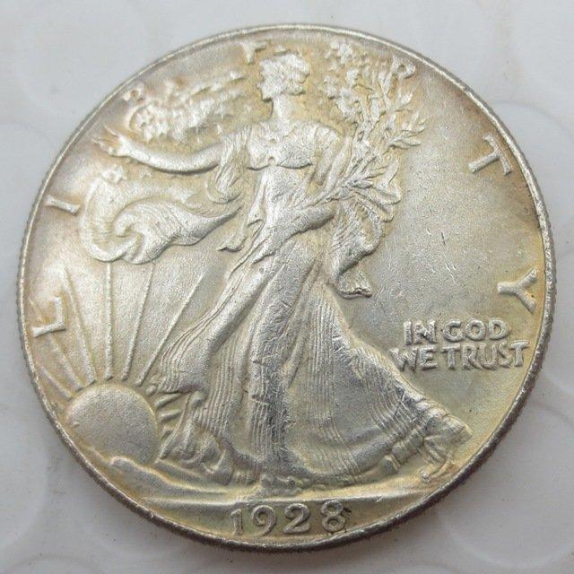 1928-S Walking Liberty Half Dollar COIN COPY
