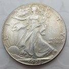 1923-S Walking Liberty Half Dollar COIN COPY