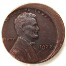 Lincoln One Cent 1922 Error with An Off Center Error Rare Copy Coins