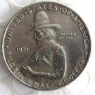US 1920-1921 Pilgrim Commemorative Sliver Half Dollar Rare Coins