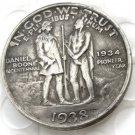 1938 Daniel Boone Bicentennial Commemorate Half Dollar Copy Coin
