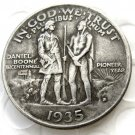 1935D Daniel Boone Bicentennial commemorate half dollar copy coin