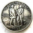 1934 Daniel Boone Bicentennial commemorate half dollar copy coin