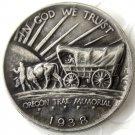 1938 OREGON TRAIL COMMEMORATIVE HALF DOLLARS COPY COIN