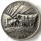 1936 OREGON TRAIL COMMEMORATIVE HALF DOLLARS COPY COIN