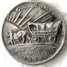 1934D OREGON TRAIL COMMEMORATIVE HALF DOLLARS COPY COIN
